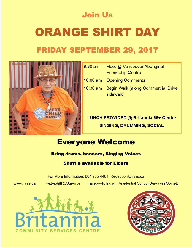 Orange Shirt Day Poster